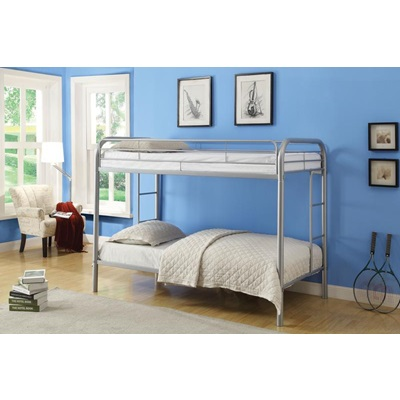 02188SI SILVER T/T BUNKBED