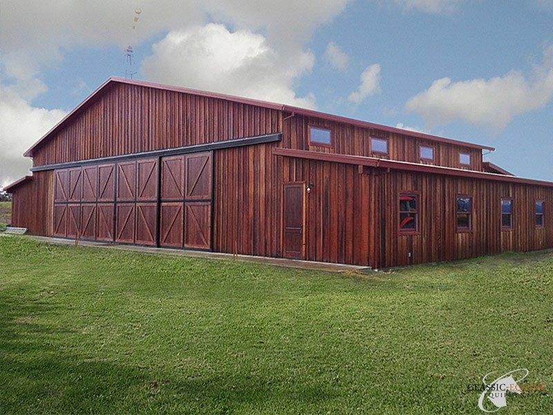 Horse Barn End Doors Classic Equine Equipment