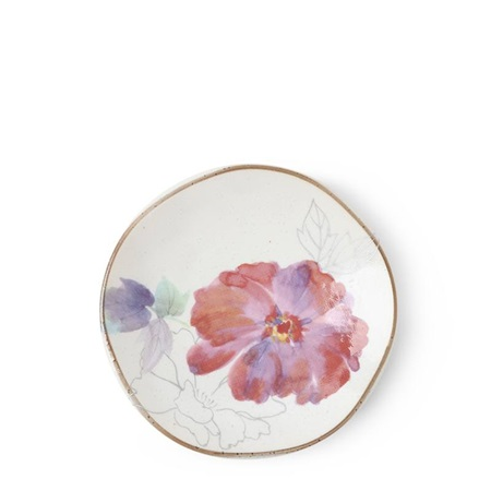 Floral Mini Plate Purple