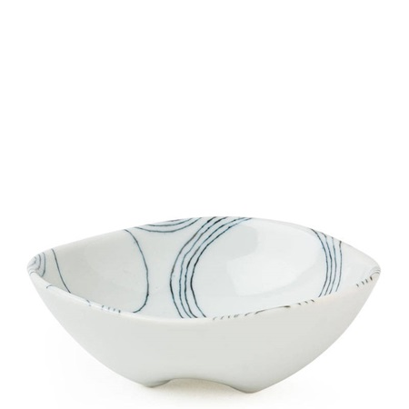 "Ito Tsumugi 5"" Footed Bowl"