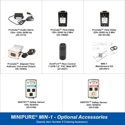 MINIPURE® MIN-1 Optional Accessories