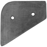 Front fender center pad