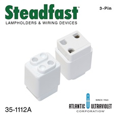 Lamp Socket: 3-Pin Instant Start Free Standing Lamp Socket