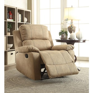 59526 BROWN RECLINER
