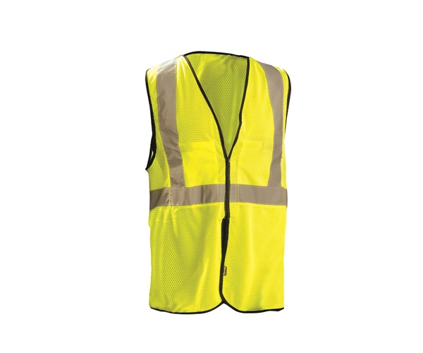 High Visibility Value Mesh 5-pt. Break-Away Safety Vest