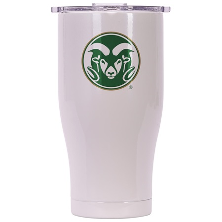 Colorado State 27Oz Chaser Pearl/Clear