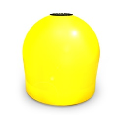 Yellow Marker Buoy