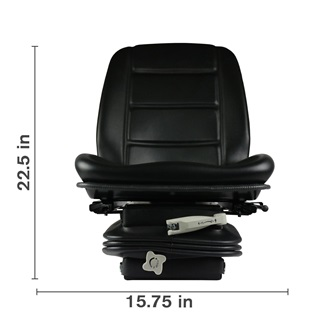 Agricultral Narrow Deluxe Suspension Seat