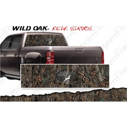 Camo Rear Window Perfs