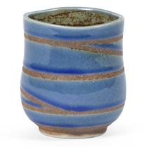 Blue Swirl Teacup