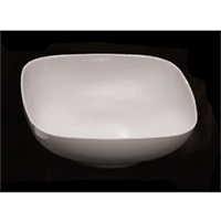 Thunder Group Ps3111W Passion White Square Bowl 128 Oz.