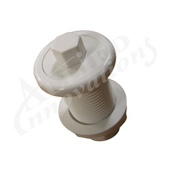AIR BUTTON: #4 LITE TOUCH, WHITE