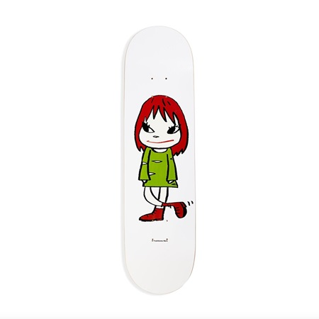 Skateboard Welcome Girl Yoshitomo Nara