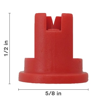 Red 110° Nozzle Spacing With Ceramic Insert