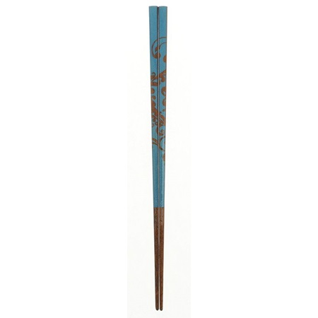 Chopsticks Wood Bali Floral Wave