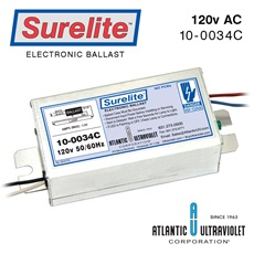 Ballast: Surelite™ 120 50/60Hz/430mA. with LED RoHS