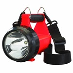 Streamlight Fire Vulcan LED Rechargeable Firefighting LED Lantern with Vehicle Mount System 12V DC - Orange