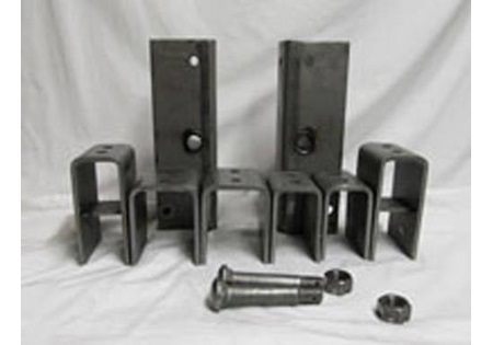 Double Axle Slip to Eye Spring Hanger Kit