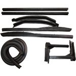Convertible roof rail kit