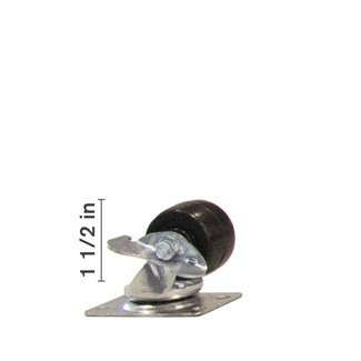 1 1/2 inch Swivel With Side Locking Brake