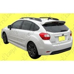OEM Flush Mount Roof Spoiler - OFMRS12