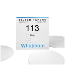 Filter Papers, Qualitative Wet Strengthened Grade 113 (Whatman)