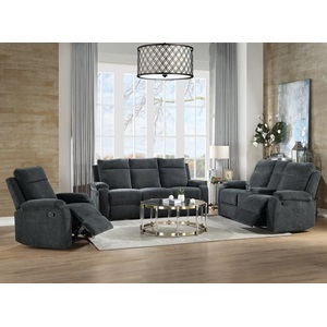 55111 Elijah Motion Loveseat with Console