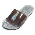 Zendals Classic Massage Spa Sandal, Bark-Large