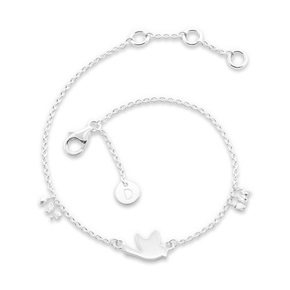 Daisy London Good Karma Bracelet, Dove