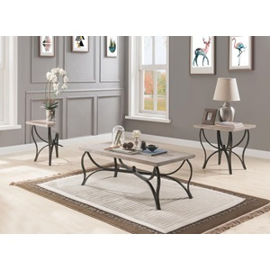 80685 3PC PK COFFEE/END TABLE SET