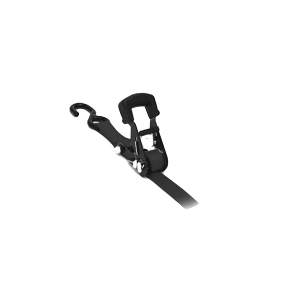 "1"" X 16' Ratchet Strap with J hook"