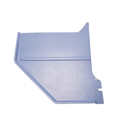 1964-65 Mustang Coup & Fastback Kick Panels (Medium Blue)