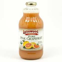 Grapefruit Juice (Lakewood), Organic - 32oz (Case of 12)