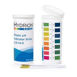 Hydrion® pH Plastic Test Strips (Micro Essentials)