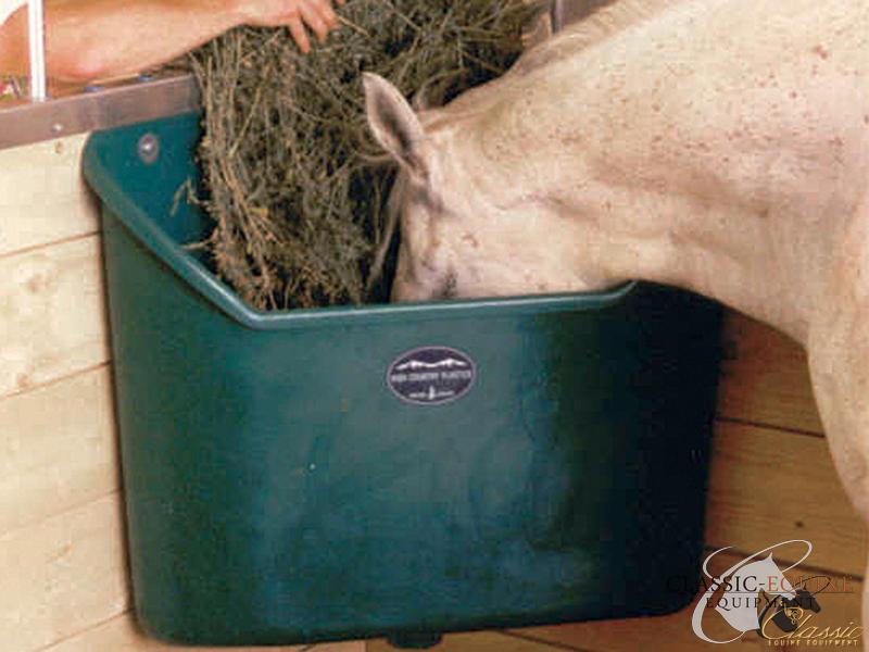 porta horse mini grazer corner feeder and xl triob