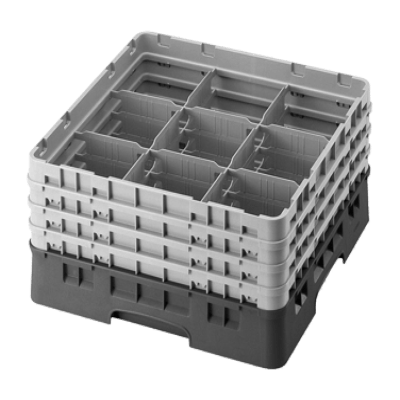 Cambro 9S638167 Camrack Glass Rack with 3 Extenders