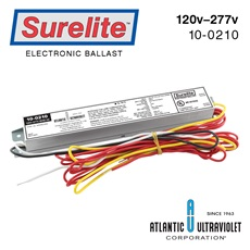 Ballast: 120-277 Volts G12-G6 Lamps (4) Reds / (1) Yellow