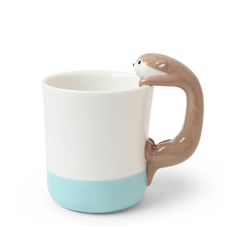 Otter 8 oz. Mug Blue