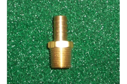Brass MPT x Hose Barbs of Various Sizes