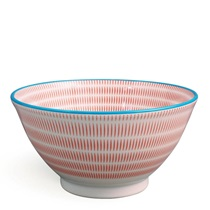 "Sen Colors 7.5"" Noodle Bowl - Red"