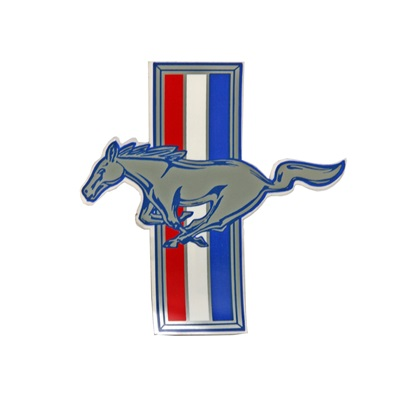 "Running Bar Horse 7"" Decal (LH)"