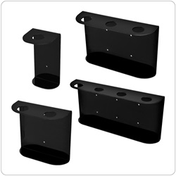 32oz Madera Dispenser Brackets, Black