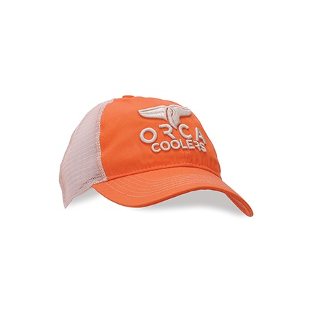 Blaze Orange Lp Bubble Letter Hat