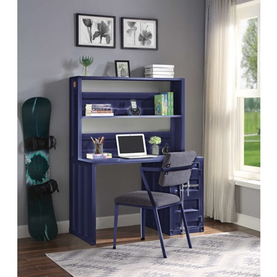 37907 Cargo Writing Desk with Hutch