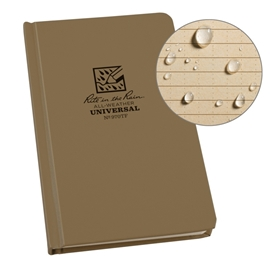 Black Rite in the Rain Weatherproof Notebook 770F-LG