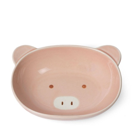 Pig Oval Bowl