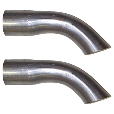 "1965-66 Mustang Exhaust Tips (Turn downed tips 2"" reduced to 1.875"")"