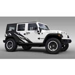 Warlord Jeep Graphics (satin black)