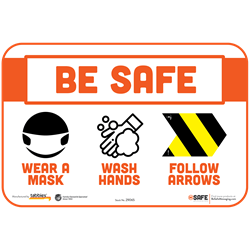 BeSafe Messaging Facilities Wall Decals