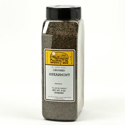 Spearmint Leaves, Crushed - 6 oz